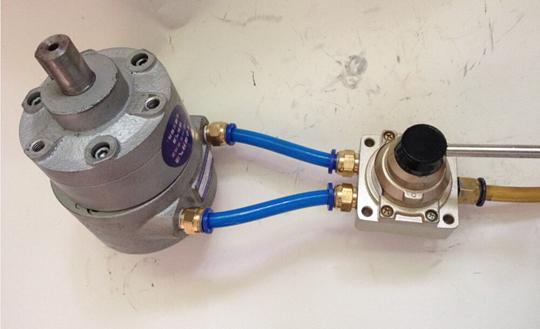 精巧型减速气动马达 专利产品